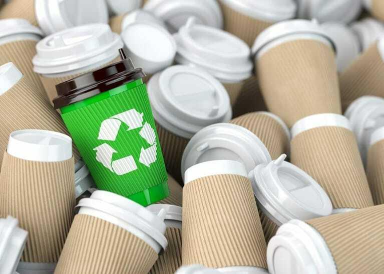 Plastikbecher, Recyclingbecher