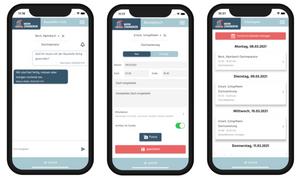 Die Mein-Zimmerer-App und ihre Funktionen