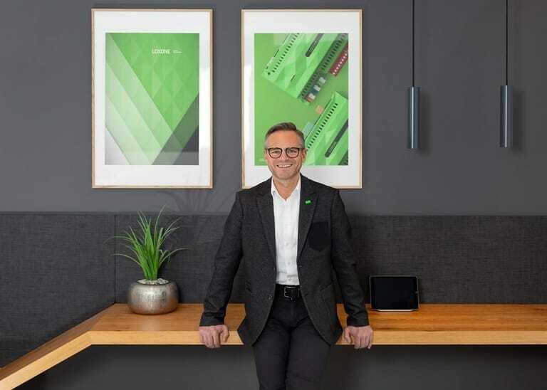 Rüdiger Keinberger ist CEO bei Loxone im oberösterreichischen Kollerschlag.