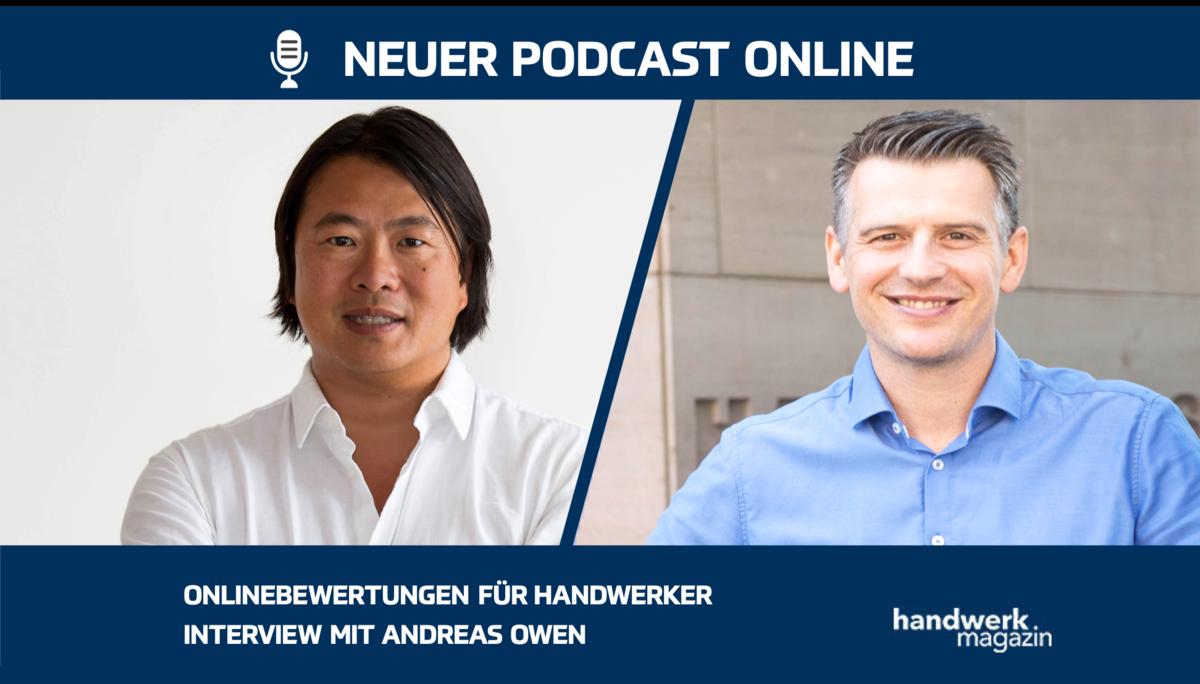 Onlinebewertungen für Handwerker: Interview mit Andreas Owen