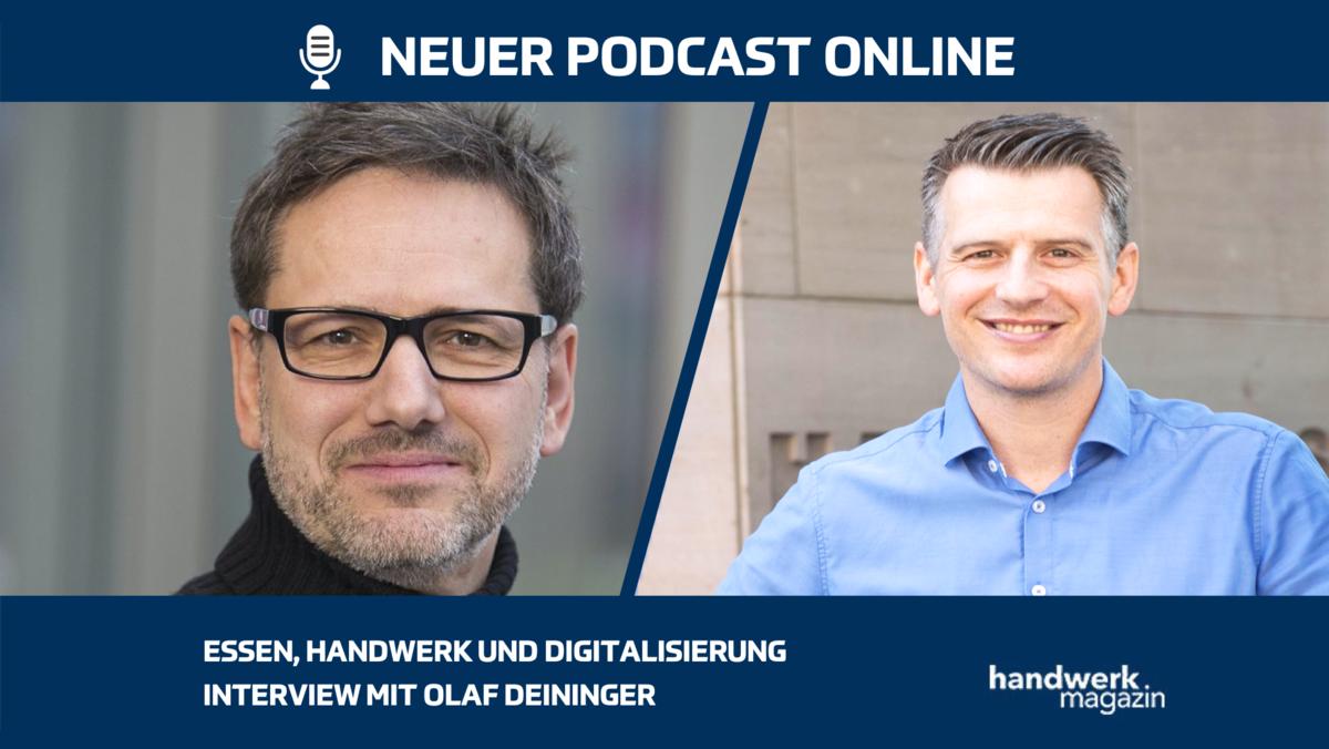 So digitalisiert sich die Ernährung und das Lebensmittelhandwerk: Interview mit Olaf Deininger