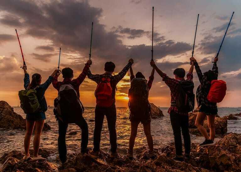 Teambulding, Wandern, Incentive-Reise