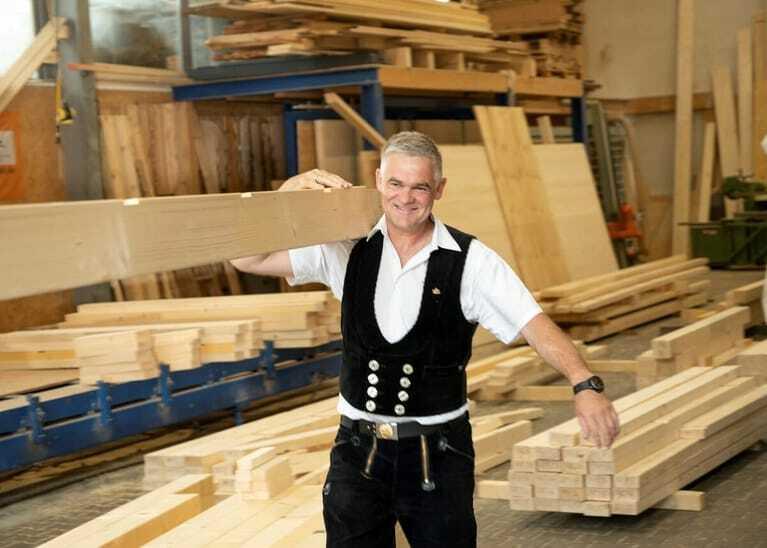 Franz Wörndl, Geschäftsführer Holzbau Wörndl