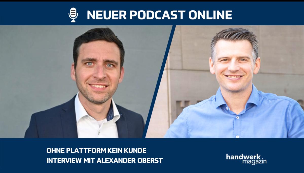 Ohne Plattform kein Kunde: Interview mit Alexander Oberst