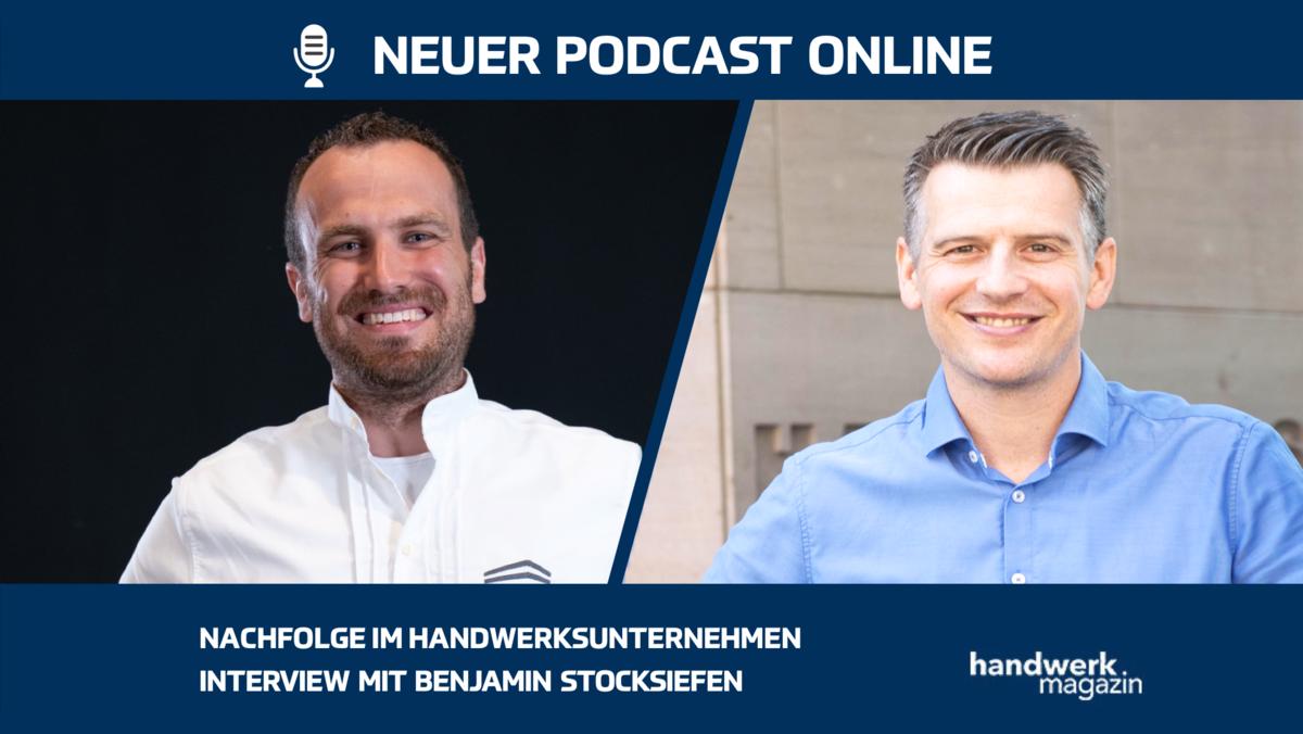 Nachfolge in Handwerksunternehmen: Interview mit Benjamin Stocksiefen