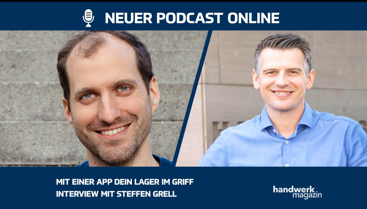 """Mit der App """"Lager im Griff"""" Werkzeug, Maschinen und Material organisieren: Interview mit Steffen Grell"""