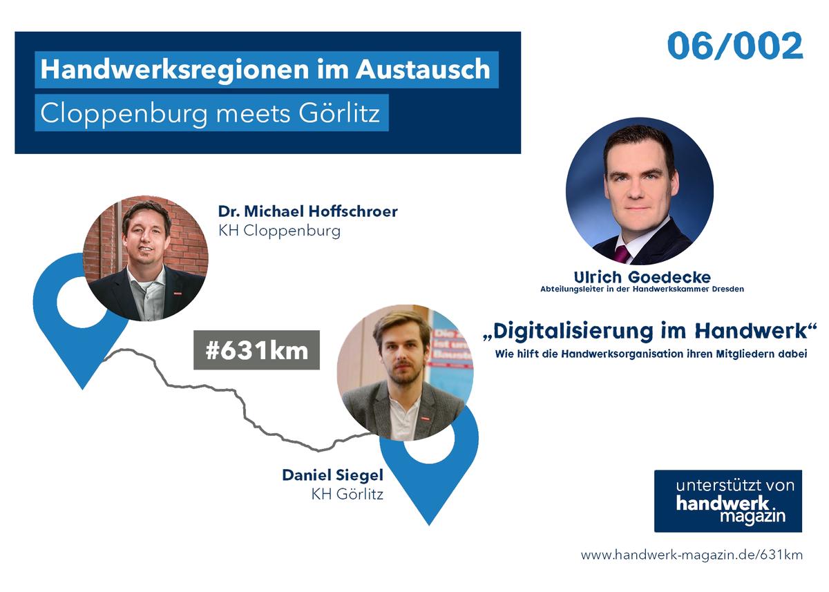 Handwerksregionen im Austausch: Digitalisierung im Handwerk