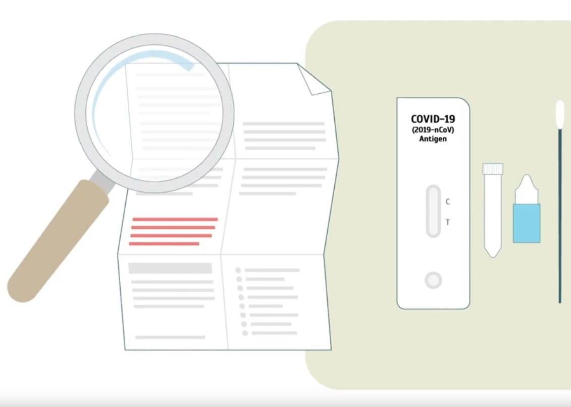 KBV-Hilfe in der Pandemie: Anleitung zu PoC-Antigen-Schnelltests