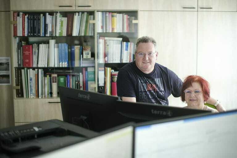 Maria und Arthur Bergmann