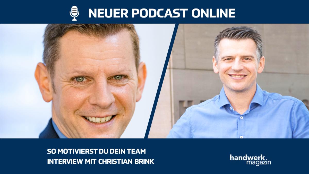 So motivieren Chefs effektiv ihr Team: Interview mit Christian Brink