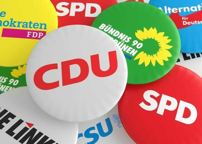 Parteien Bundestagswahl 2021