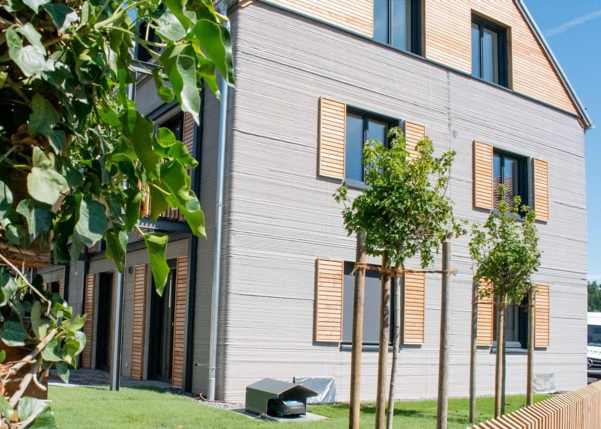 Zeitsparend und nachhaltig: Bilanz fürs bislang größte Mehrfamilienhaus aus dem 3D-Drucker
