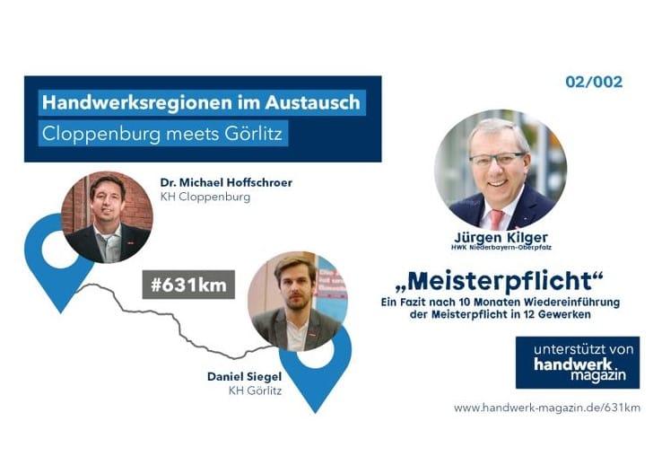 Handwerksregionen im Austausch: 10 Monate Wiedereinführung der Meisterpflicht