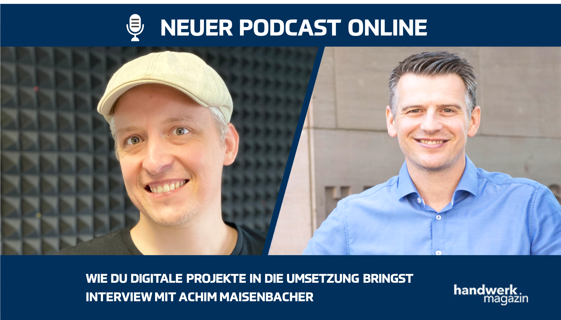 Wie Unternehmer digitale Projekte umsetzen: Interview mit Achim Maisenbacher