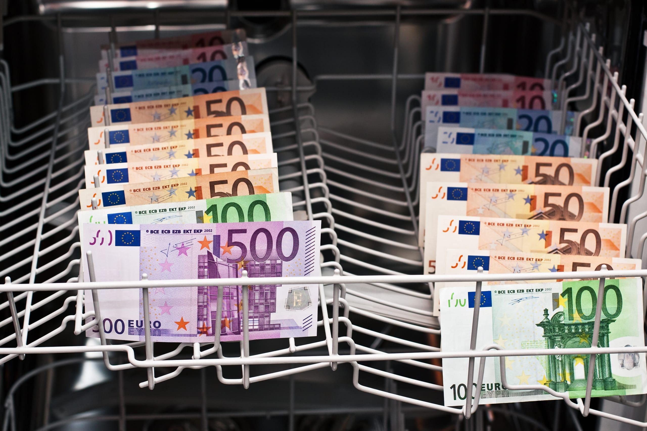 Geldwäsche: 350 Prozent mehr Verdachtsfälle